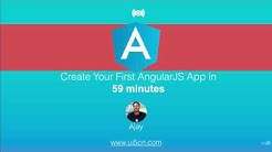 AngularJS App in 59 min From Scratch (2017 - 2018)
