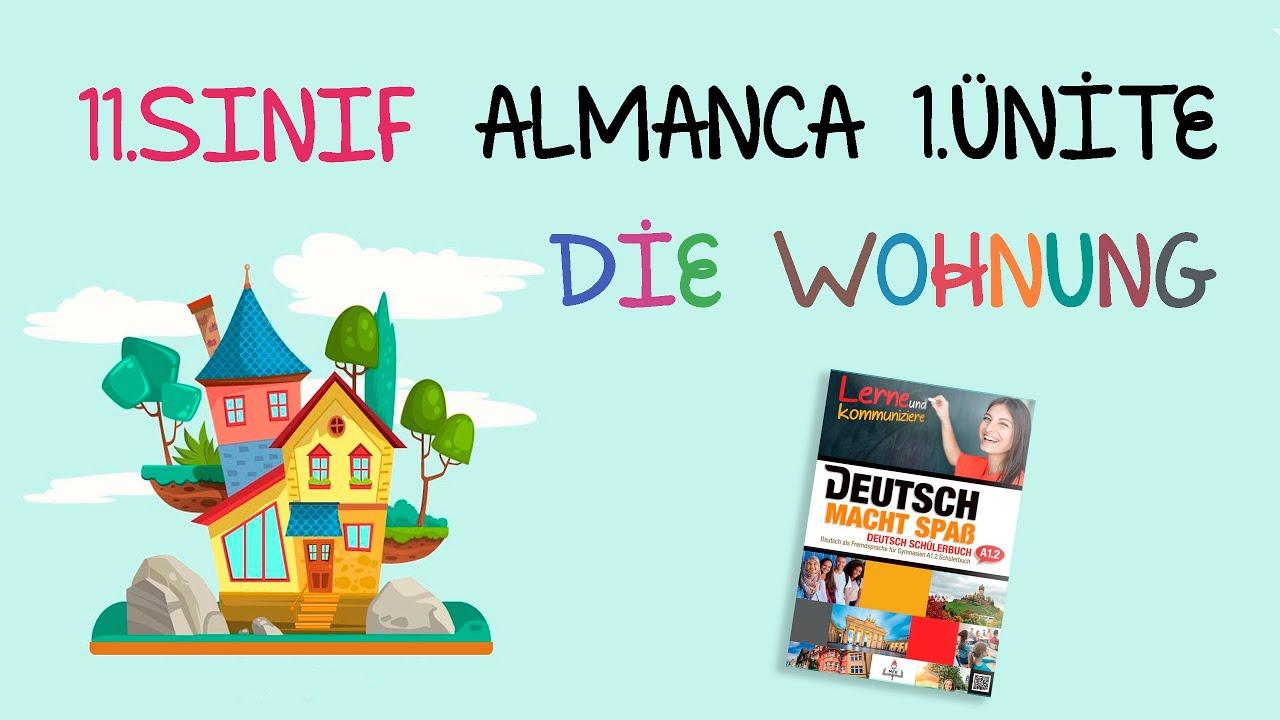 11.Sınıf Almanca | 1.Ünite - Die Wohnung | Part 1