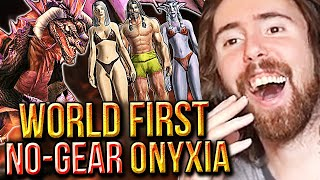 Asmongold Amazed By World First NAKED Onyxia Kill - Classic WoW