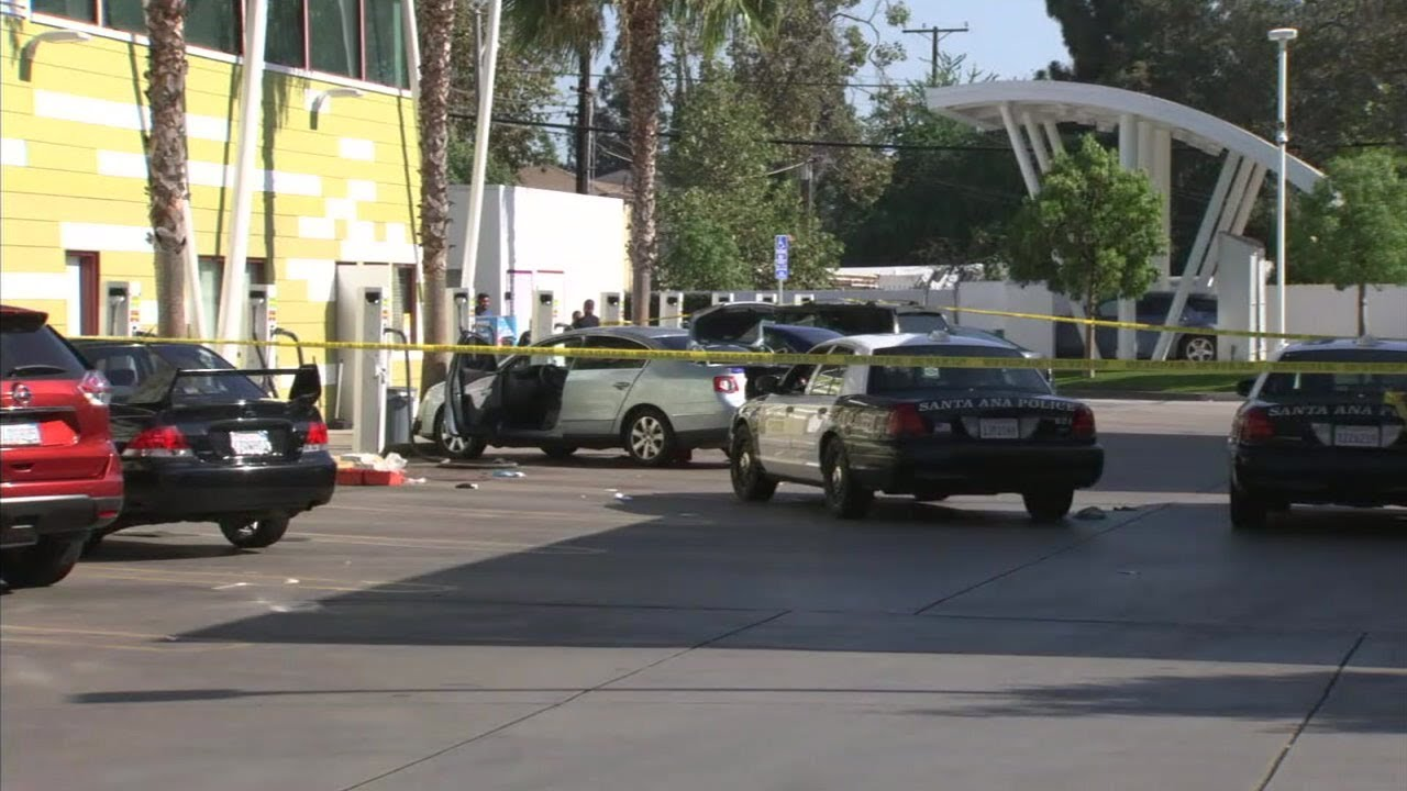 Murder suspect killed in Santa Ana officer-involved shooting | ABC7