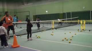 20120119 ACE Tennis 5-Year Old Eryna Ayako