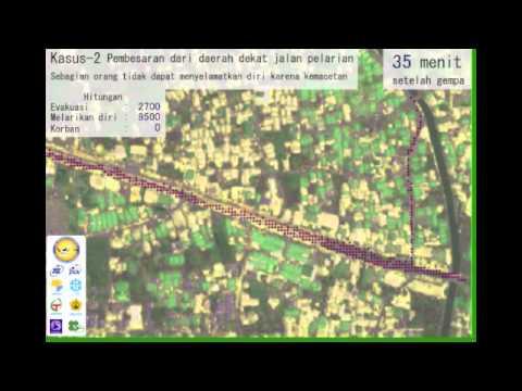 Tsunami Evacuation Simulation for Banda Aceh