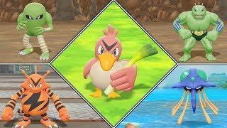 Pokémon Let's Go Pikachu Shiny Hunting Highlights #06 (Farfetch'd, Hitmonlee, Electabuzz)