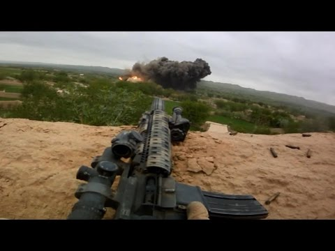 MARSOC Marine Raiders Combat Footage - Helmet Cam Firefight with Talibat | Afghanistan War