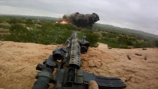 MARSOC Marine Raiders Combat Footage - Helmet Cam Firefight with Talibat | Afghanistan War