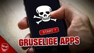 Die gruseligsten Apps, die ihr niemals runterladen solltet!