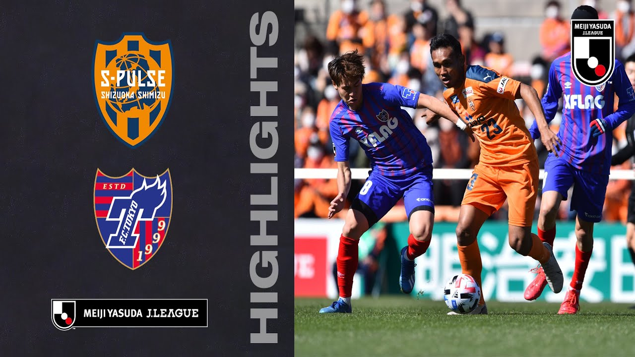 Shimizu S Pulse 1 3 Fc Tokyo Teerasil Debut Goal Not Enough As Fc Tokyo Come From Behind To Win Youtube