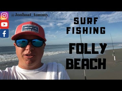 Fishing For Reds At Folly Beach SC