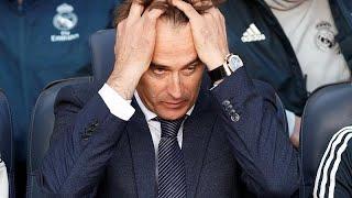 El Real Madrid destituye a Julen Lopetegui como entrenador