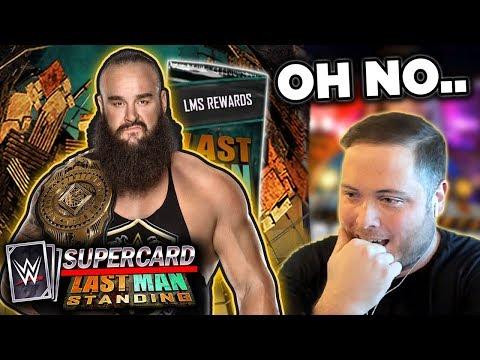 WRONG LAST MAN STANDING REWARDS?! IT'S BACK...   WWE SuperCard Season 6
