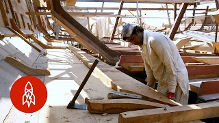 Sails, Sweat and Sea: Hand-building the World's Biggest Dhow