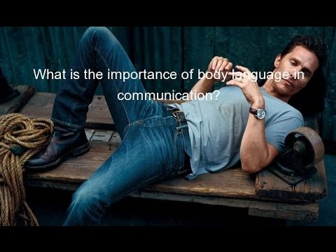 importance of body language in communication In this article, i'm giving very specific tips to make the body language you use  support your message and  body language is communicating both to others all  the time  if you have one, you know how important this is.