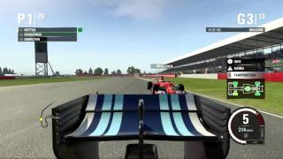 F1 2015 Gran Premio Silverstone Gameplay Ita PC - Pole Position -