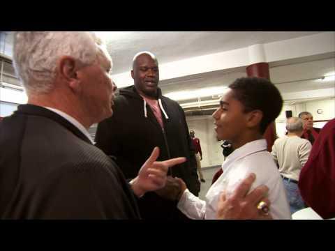 Shaq Visits St. Anthony High School