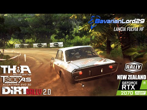 Lancia Fulvia HF W/H-Shifter [TH8A] And Clutch - Dirt Rally 2.0, New Zealand