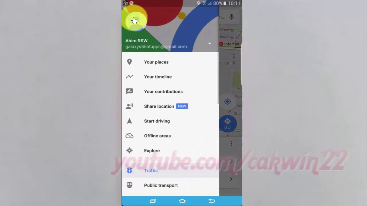 Samsung Galaxy S7 Edge : How to Enable or Disable Location sharing  notifications on Google Maps