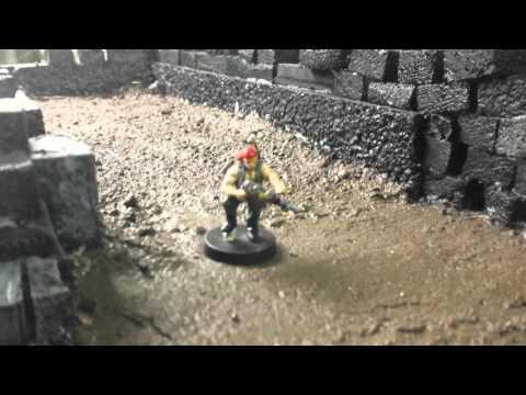 Warhammer 40k space marine bunker