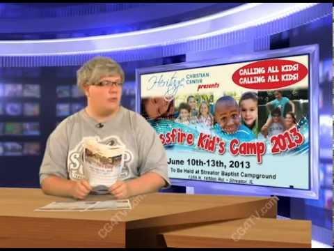 2013 Kids Camp: A News Alert!