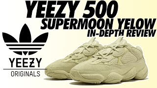 REVIEW: YEEZY 500 SUPER MOON YELLOW!