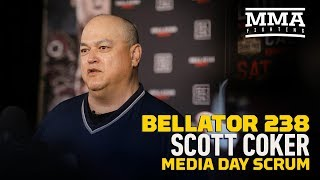 Bellator 238: Scott Coker Media Day Scrum Video - MMA Fighting