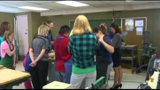 Teacher Brings Back Wood Shop Class For Special Education