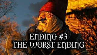 The Witcher 3: Wild Hunt - Ending #3 - The worst ending