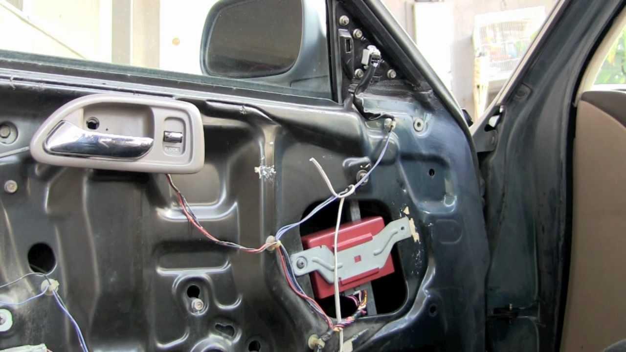 Diagram For 2000 Honda Accord Door Toyota Hilux Wiring 2016 1994 Lock Control Unit Fix - Youtube