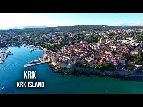 Krk - Krk Island - Croatia - Otok Krk - Drone Video