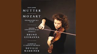Violin Concerto No. 1 in B Flat Major, K.207: I. [Allegro moderato]