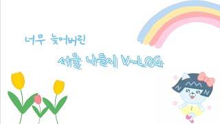 서울 나들이 V-LOG[마왕족발/잠수교집/서울숲/튤립/…