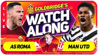 ROMA vs MANCHESTER UNITED With Mark GOLDBRIDGE LIVE Plus ARSENAL vs VILLAREAL
