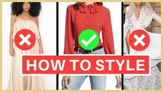 Learn This Basic Rule Of Fashion To Avoid Making Common Fashion Mistake | For Mature Women Over 50