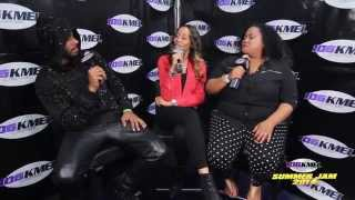 Shay Diddy & Lady Ray Interview Sage the Gemini at 2014 KMEL Summer Jam