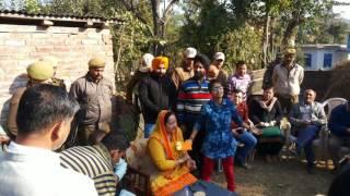 Isha Andotra  With Dy.. Nirmal Singh