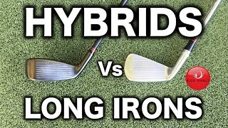HYBRID SWING Vs LONG IRON SWING