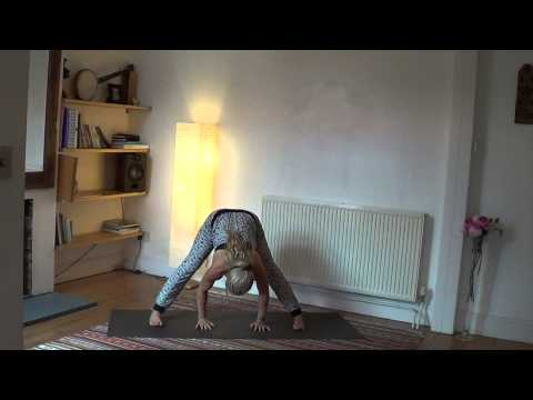Grounding yoga practice