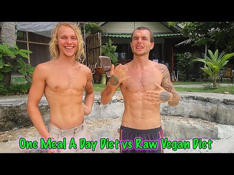 One Meal A Day Diet vs Raw Vegan Diet - Our Own Personal Experience