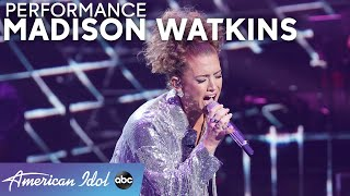 "SANG! Madison Watkins Puts Her Spin On Drake's ""Hotline Bling"" - American Idol 2021"