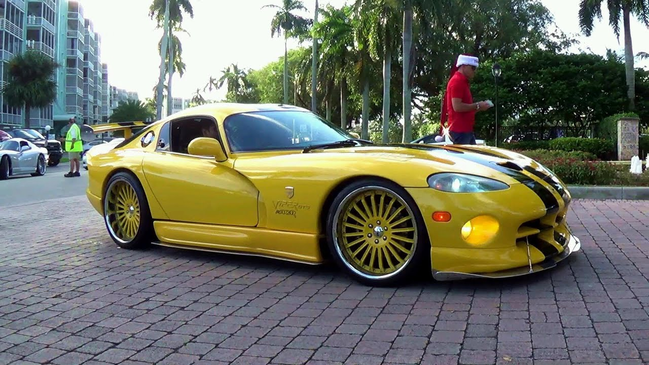 250 Supercars Arriving To Exotic Car Toy Rally 2013 Miami The