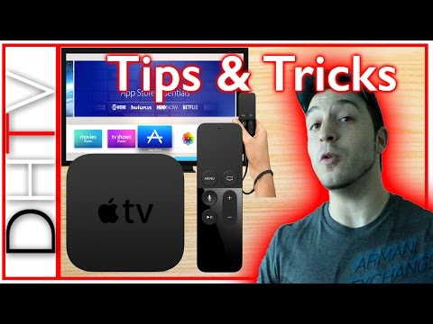 New Apple TV Tips & Tricks - How To Use The Apple TV 4th Generation