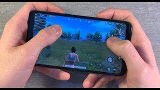 Игры Nokia 6.1 Plus (GTA:SanAndreas, PUBG:Mobile, NFS:MostWanted)