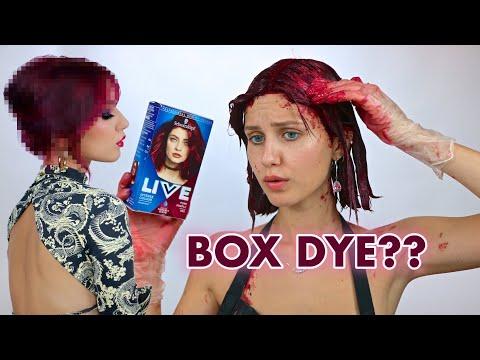 dyeing-my-hair-burgundy-with-box-dye