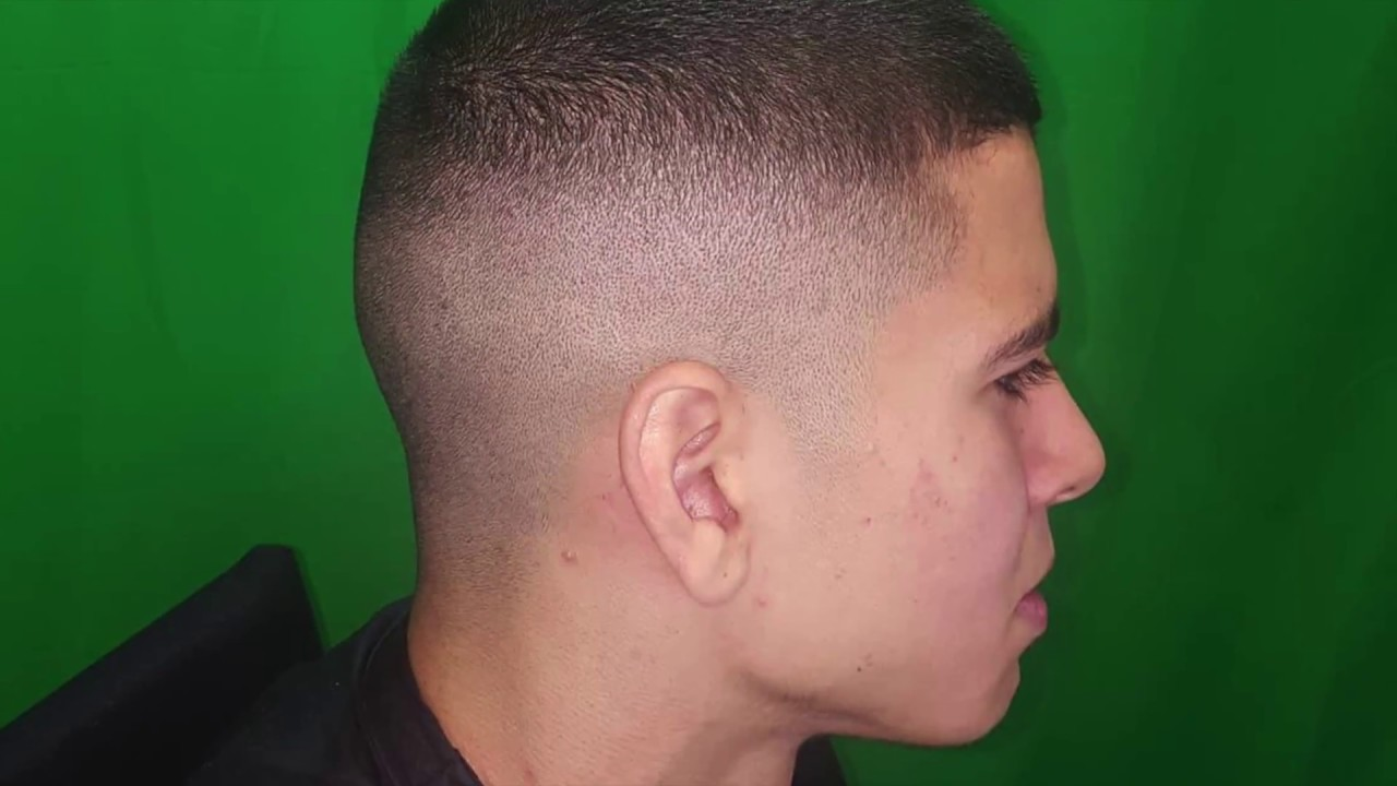 High And Tight Bald Fade Youtube