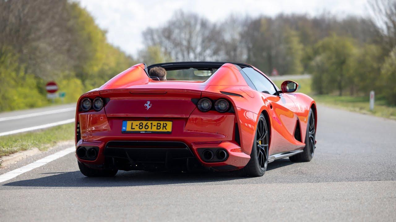 The Ferrari 812 GTS Is a $500,000 800-Horsepower V12 Monster
