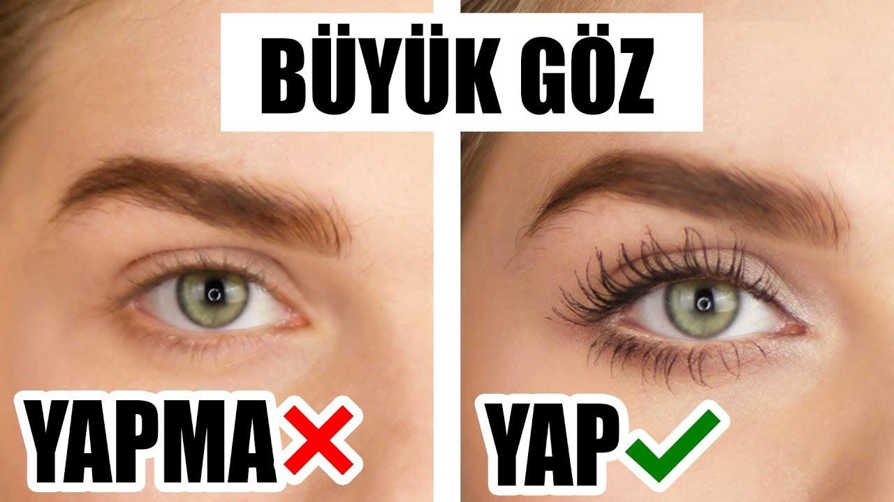 İri Göz Makyajı