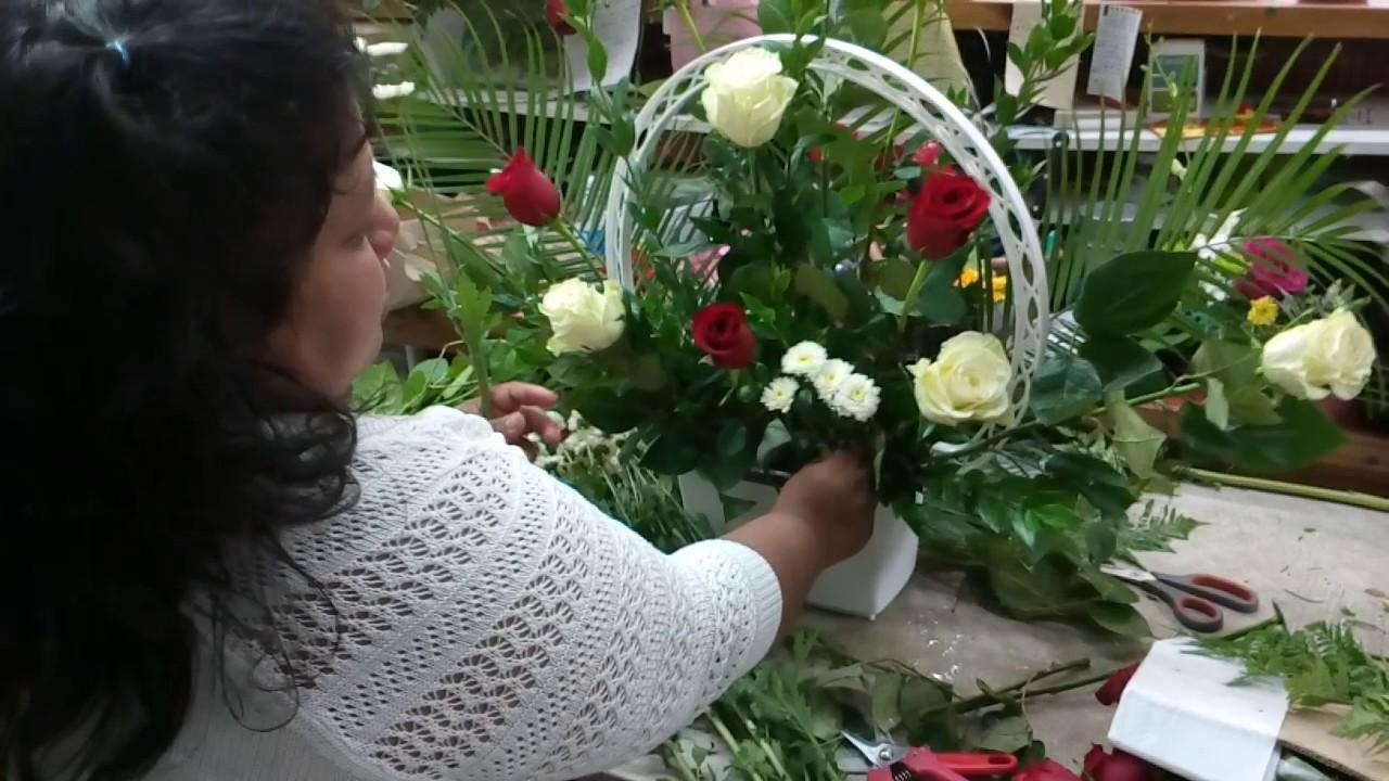 Como hacer arreglo de flores para altar de iglesia youtube - Como hacer cuadros modernos ...