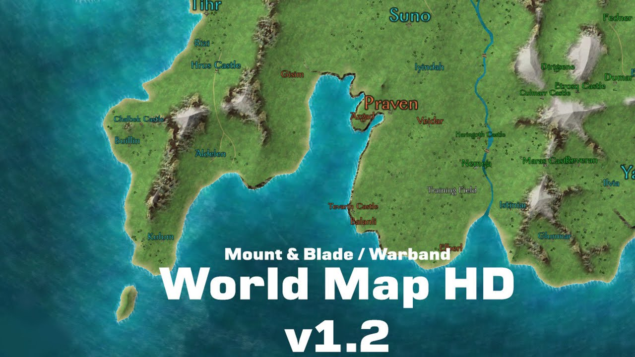 world map hd mount blade warband world map hd mount blade warband gumiabroncs Choice Image