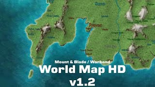 Установка Текстурного пака World Map HD на Mount & Blade: Warband