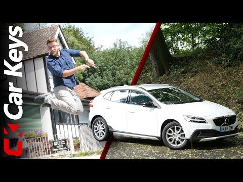 2017 Volvo V40 Cross Country review - The Top Pick From The Premium Hatchbacks? - Car Keys