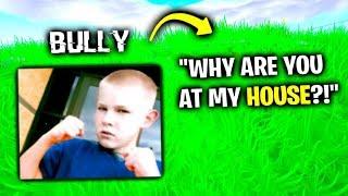 My School Bully Won't Stop.. (Fortnite)